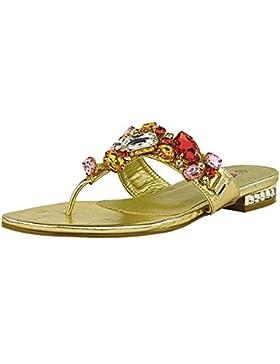 Kick Footwear - Donna Diamante Beach Sandali Estivi gioiello partito sandalo