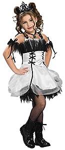 Gothic Girls - Disfraz de Bella para niña, infantil 3-4 años (883944-S)