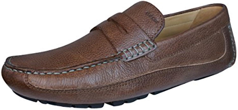Geox U Melbourne A Monet V Zapatos de cuero para hombres / Mocasines