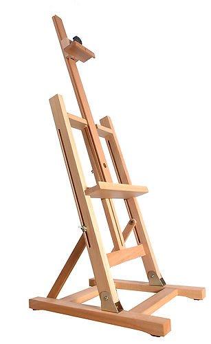 Quantum Art Tisch-Staffelei, 1030mm, Buchenholz, 81,3–106,7cm.
