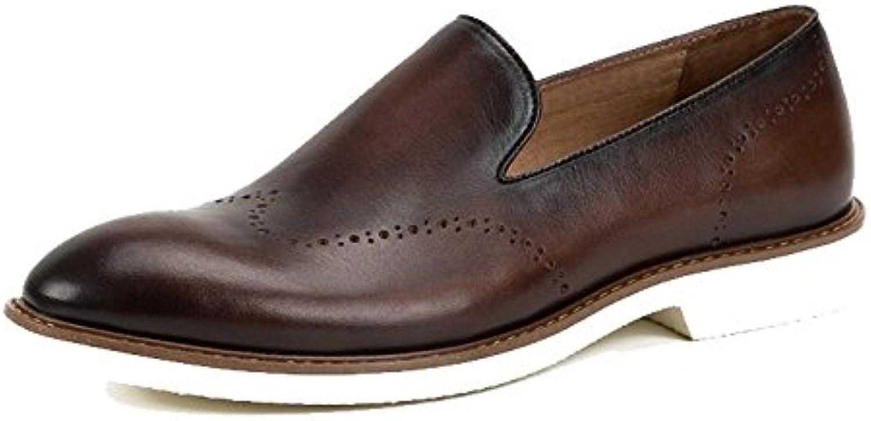 Zapatos para Hombres Zapatos Individuales Un Pedal Zapatos Perezosos Breathable -