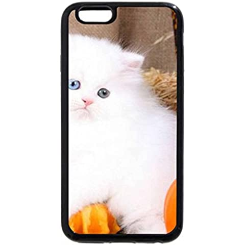 iPhone 6S / iPhone 6 Case (Black) Harvest Kitty