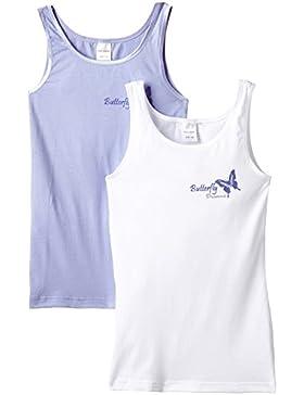 Schiesser Mädchen Unterhemd 2pack Tops