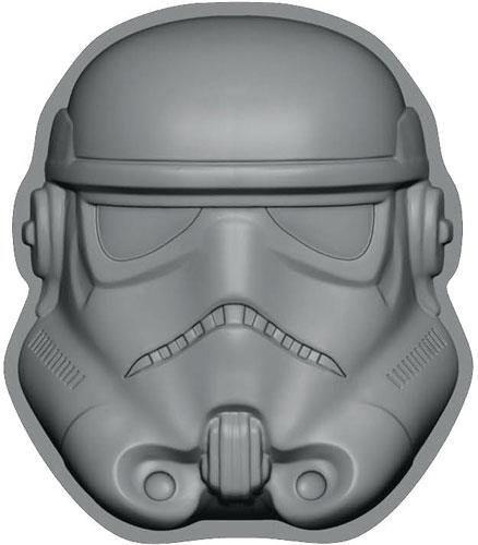 Star Wars - Stormtrooper Backform / Kuchenform, schwarz