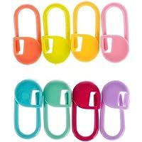 jushen 30piezas tejer ganchillo agujas de punto de bloqueo marcadores de Clip Holder (color al azar)