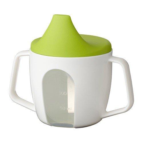 miglior prezzo IKEA börja piccola bambini tazza con coperchio