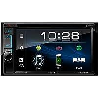 Kenwood DDX4018DAB 15,7 cm Doppel-Din-VGA-Monitor mit Bluetooth-Modul und Digitalradio schwarz