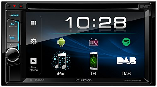 Kenwood Bluetooth (Kenwood DDX4018DAB 15,7 cm Doppel-DIN-VGA-Monitor mit Bluetooth-Modul und Digitalradio schwarz)