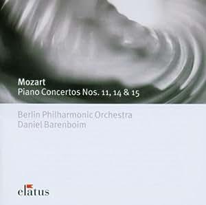 Mozart: Piano Concertos Nos. 11, 14 & 15