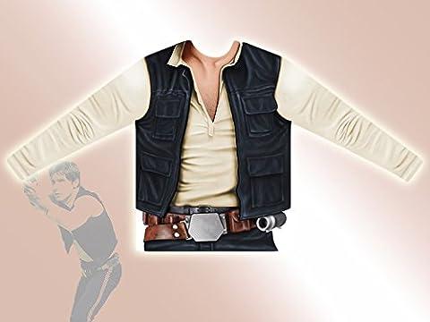 Han Costumes Solo Adulte - Viving Costumes Viving Costumes231013Han Solo pour homme