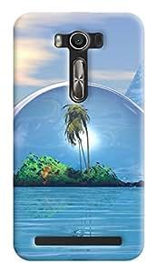 Expertdeal 3D Printed Hard Designer Asus Zenfone 2 Laser Mobile Back Cover Case Cover