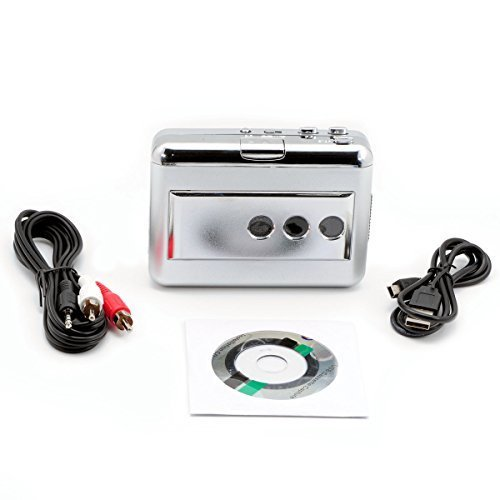 QUMOX USB-Audio-Kassette Konverter iPOD CD MP3 WALKMAN tragbares Abspielgerät