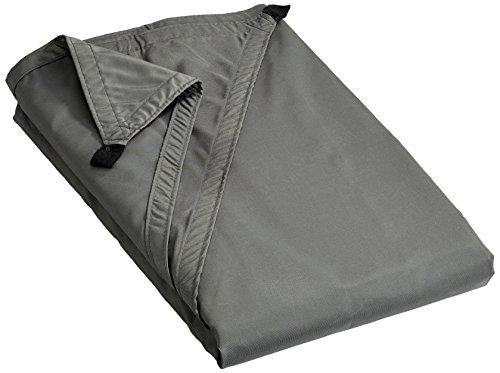 Ideanature toile d'ombrage triangulaire 5x5x5m polyester déparlent anti UV 180 gr/m2 gris anthracite, , Gris Anthracite, 36 x 25 x 5 cm,
