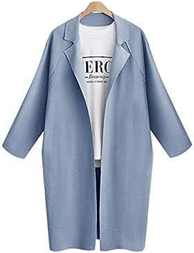 Cappotto invernale d'autunno per le donne Abbigliamento casual per cappotto da donna