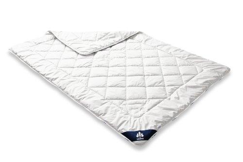 Badenia 03 633 090 149 Bettcomfort Steppbett Irisette Cashmere leicht, 155 x 220 cm, weiß
