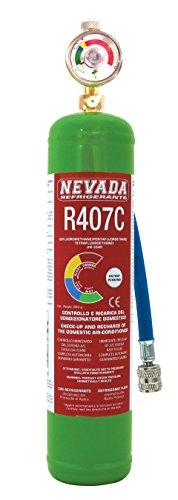 Preisvergleich Produktbild DIY R407C–Zylinder inkl. Manometer mit Schlauch, Vakuumierer, 1lt incl. im Preis