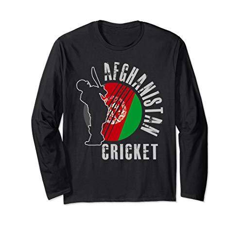 Afghanistan Cricket Team Support Design Gift Langarmshirt