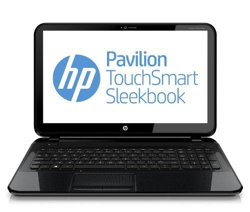Foto HP Pavilion TouchSmart 15-B127SL Sleekbook, Processore APU AMD Dual-Core A4-4355M, 4 GB DDR3, HD Sata da 500 GB, Windows 8, Nero Brillante