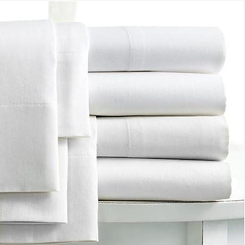 Linens Limited - Sábana bajera ajustable profunda para cama de matrimonio (algodón egipcio, 400 hilos), color