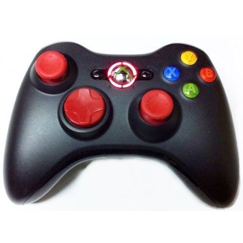 17 Mode Drop Shot, Quick Scope, Auto Aim, Dual Rapid Fire, Reprogrammable Xbox 360 Modded Rapid Fire Controller Mw3 Black Ops Mw 2,modded Red Leds by Ceitems Tradings Inc