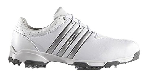 adidas Men's 360 Traxion WD Golf Shoes, White (White/Silver Metallic/Dark Silver Metallic), 8.5 UK 42 2/3 EU