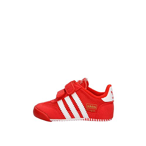 adidas Unisex Baby Dragon L2w Crib Sneakers Rot (Core Red S17/ftwr White/core Red S17)