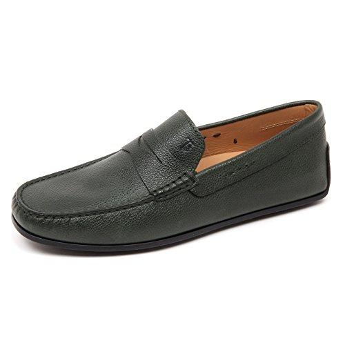 D2492 mocassino uomo TOD'S scarpa verde loafer shoe man green Verde