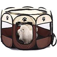 Tienda de campaña portátil plegable para mascotas, impermeable, duradera, para cachorro, gato