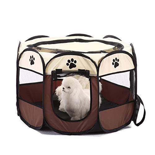 Tienda campaña portátil plegable mascotas, impermeable