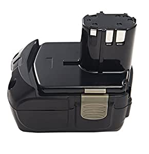 PowerSmart® 18V Li-ion 3000mAh Batterie pour HITACHI 326240, 326241,327730, 327731,BCL 1815,EBM 1830