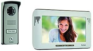 Extel 720215 Mika Visiophone couleur avec 2 fils/moniteur 7'' 18 cm