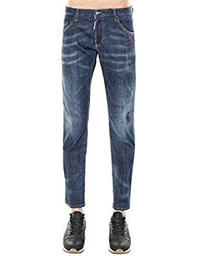 Dsquared2 Hombre S71LB0428S30342470 Azul Algodon Jeans
