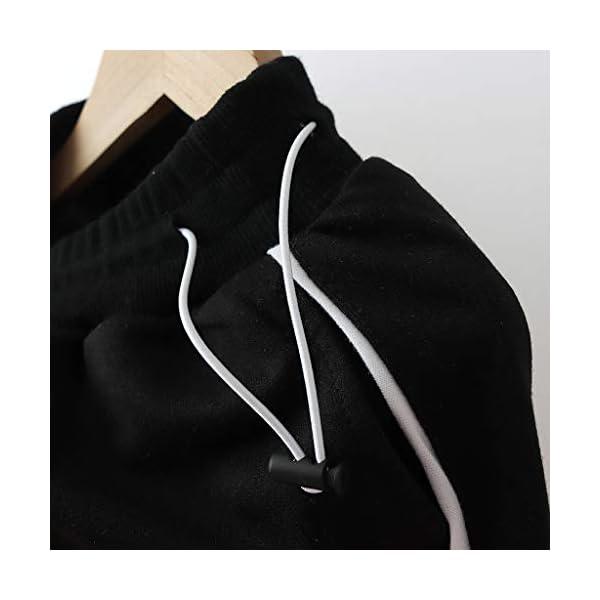 Tefamore Conjuntos Deportivos Ropa Bebé Niño Retazos Letra Camiseta Tops + Pantalones de Rayas Trajes 5