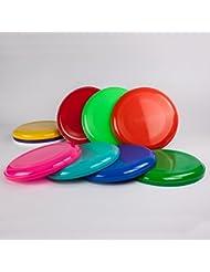 SchwabMarken - Frisbees o discos voladores - De diferentes colores - 5 unidades
