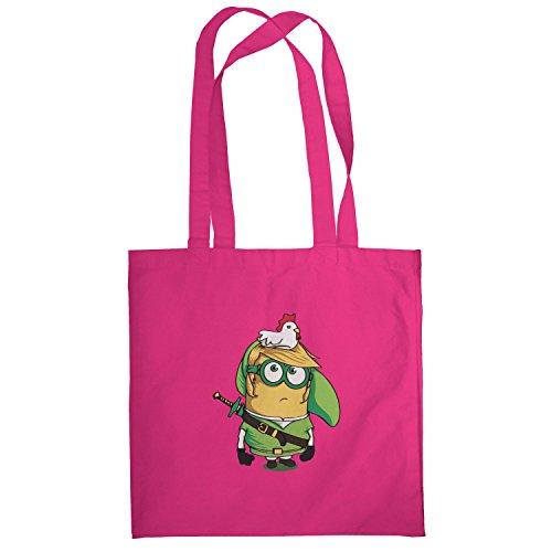 Texlab–Banana Link–sacchetto di stoffa Pink