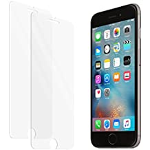 Protector de pantalla de vidrio templado zenmo 2-Pack Premium para iPhone 6s / 6 (4,7 pulgadas) compatible 3DTouch