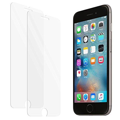 Galleria fotografica zenmo 2 pack Vetro Temperato iPhone 6 / 6S, Pellicola Protettiva Premium per iPhone 6S/6 (4,7 Pollici) compatibile con 3D Touch