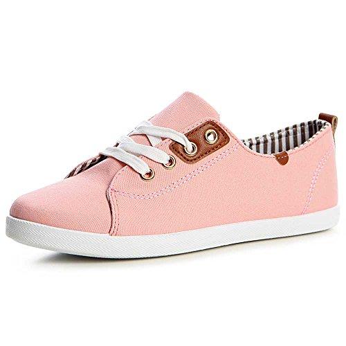 topschuhe24, Sneaker donna, grigio (Grau), 41