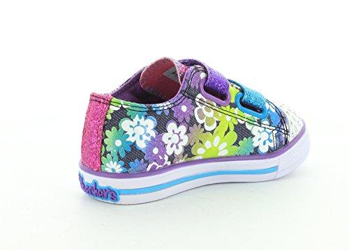 Skechers Chit ChatGlint & Gleam Mädchen Sneakers Multicolore