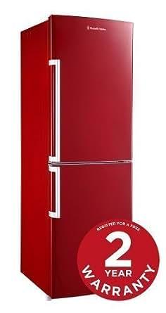 Russell Hobbs Red RH55FF173R Fridge Freezer - Free 2 Year Warranty*