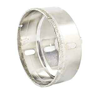 Rund Schaft 80mm Dia Diamant Trinkgeld Tile Keramik Glas Lochsäge