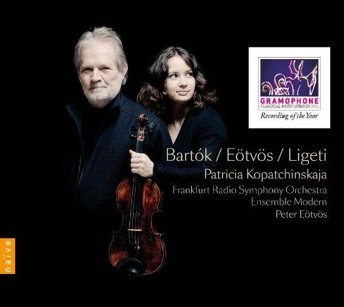 Concerto pour violon No 2 de Bartok. Seven de Eötvös. Concerto pour violon de Ligeti   Bartok, Bela (1881-1945). Compositeur