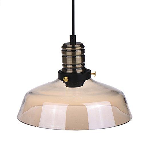 E27 Loft Luce del Pendente Retro Vetro Creativo Ombra Lampada a Soffitto Apparecchio per L'illuminazione e la Decorazione