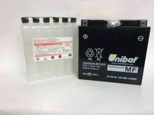 BATTERIA UNIBAT AGM YT14B-BS XVS V STAR CLASSIC 1100 2000-2009