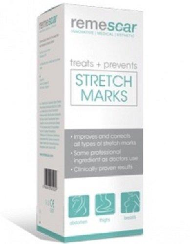 Remescar Creme | Gegen Dehnungsstreifen Und Narben | Für Schönere Und Glattere Haut | Beruht Auf Silikon-Basis | Natürliche Inhaltsstoffe