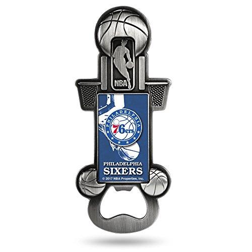 (Unbekannt NBA Philadelphia 76ers Party Starter Flaschenöffner, Silber, 5)