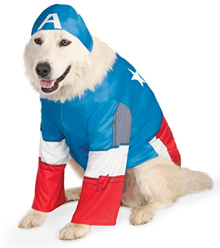 Rubies Costume Company Marvel Universe Captain America Big Dog Boutique
