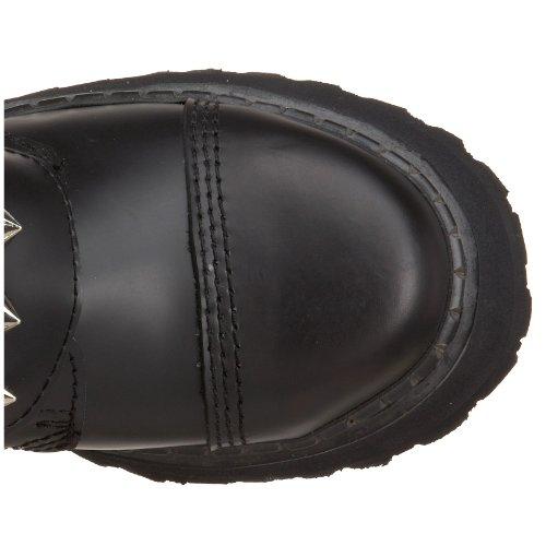 Demonia, Stivali uomo Blk Leather