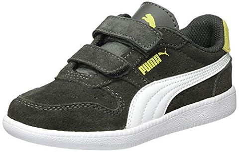 Puma Unisex-Kinder Icra Trainer SD V PS Sneaker, Grau (Dark Shadow-White), 30 EU