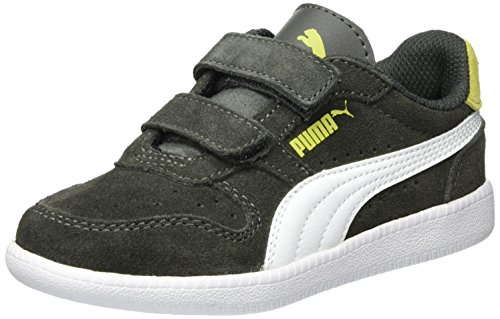 Puma Unisex-Kinder Icra Trainer SD V PS Sneaker, Grau (Dark Shadow-White), 31 EU (Schuhe Kinder Puma)